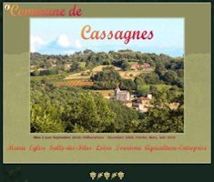 Cassagnes Commune website